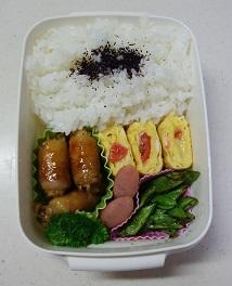 お弁当(エノキの肉巻き)